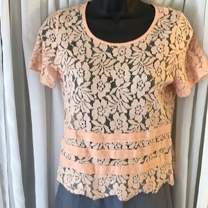 Tops - BNWOT Lace top